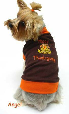 thanksgiving dog clothes