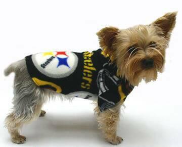 d0757f979c5 Pittsburg Steelers Fleece dog clothes