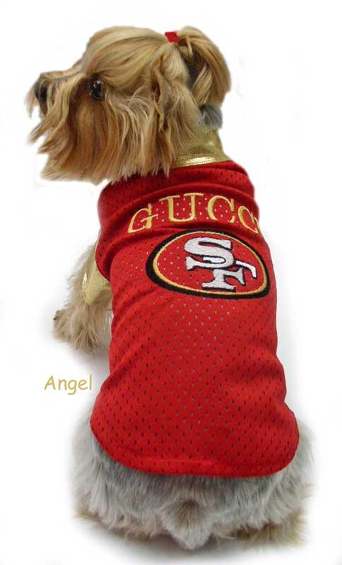 outlet store 29517 cc8a1 San Fransico 49ers dog clothes